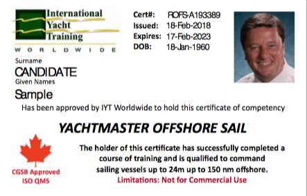 IYT Yachtmaster Offshore